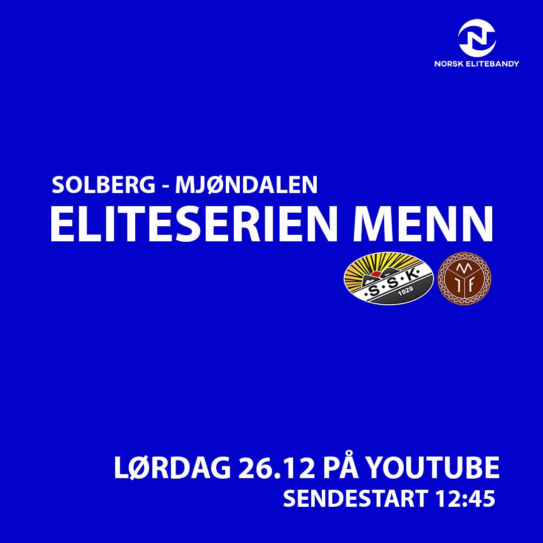 Solberg – Mjøndalen live på YouTube 2.juledag
