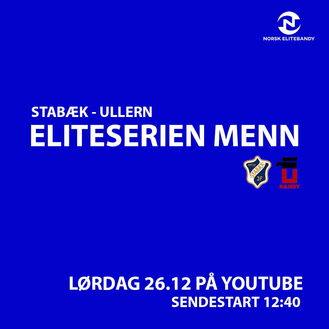 Stabæk – Ullern live på YouTube 2.juledag